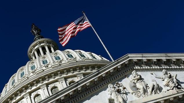 L'édifice du Capitole, à Washington.