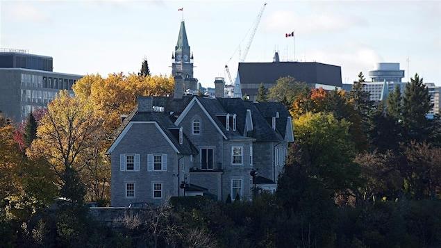 Photo de la résidence officielle du premier ministre