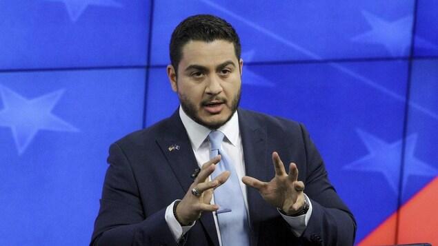 Le candidat au poste de gouverneur du Michigan Abdul El-Sayed