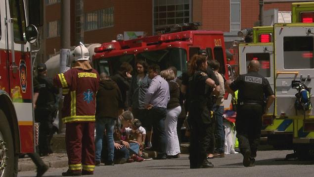 L'accident a fait au moins trois blessés graves.