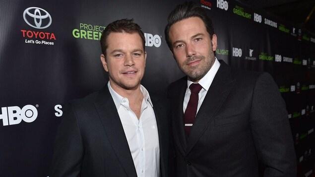 Matt Damon et Ben Affleck en 2014