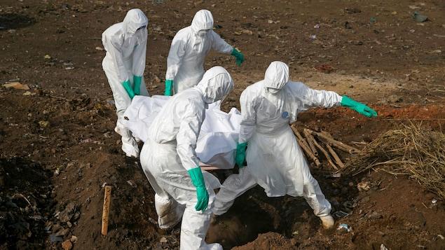 République démocratique du Congo: quatre nouveaux décès dus à Ebola