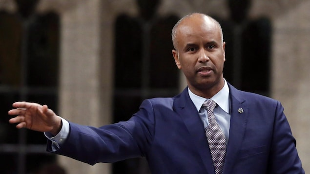 Le ministre canadien de l'Immigration, Ahmed Hussen