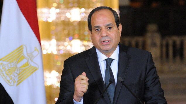 Le président égyptien Abdel Fattah Al-Sissi.