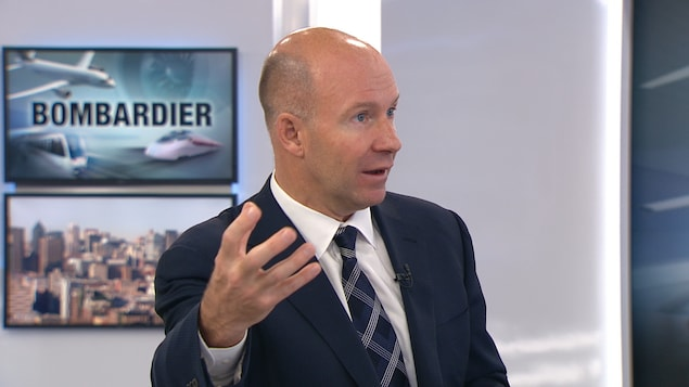 Le PDG de Bombardier, Alain Bellemare