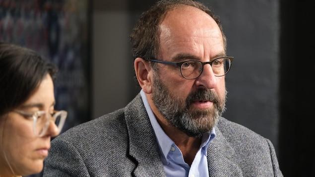 Le Dr Alain Poirier, directeur de la Santé publique du CIUSSS de l'Estrie-CHUS.