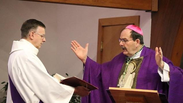 Monseigneur Albert LeGatt.