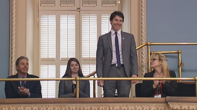 Alex Harvey a été honoré à l'Assemblée nationale