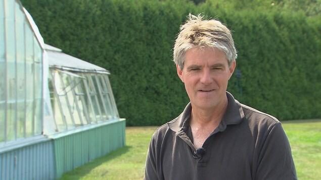 Le directeur général des Jardins de Métis, Alexander Reford