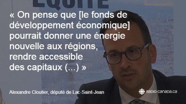 Citation d'Alexandre Cloutier