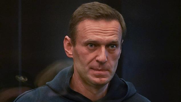 Photo d'Alexeï Navalny fournie par le tribunal de Moscou.