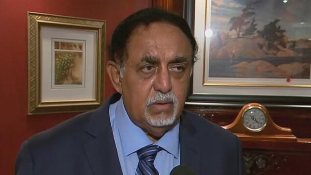 Le candidat indépendant Ali Dahan