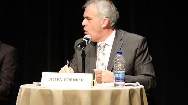 Allen Cormier, candidat à la préfecture de la Haute-Gaspésie