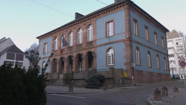 Un bâtiment de Sainte-Marie-aux-Mines.