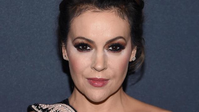 L'actrice américaine Alyssa Milano