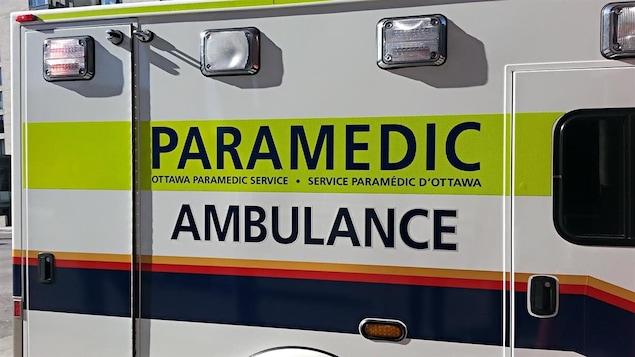 Une ambulance du Service paramédic d'Ottawa (archives)
