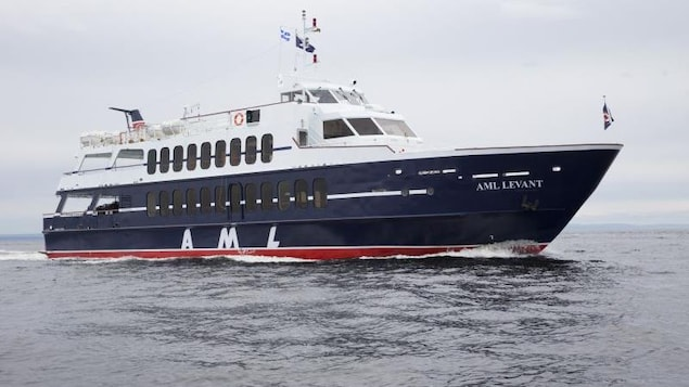Le navire AML Levant.