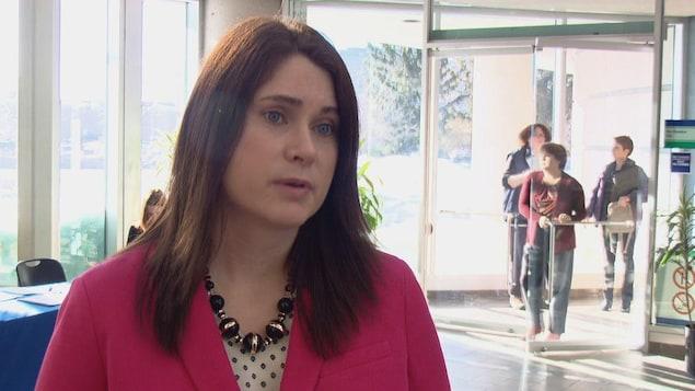 Amy Porath, directrice de la recherche au Centre canadien sur les dépendances et l'usage de substances