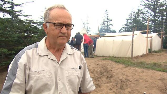 André Barrette est le maire de Natashquan