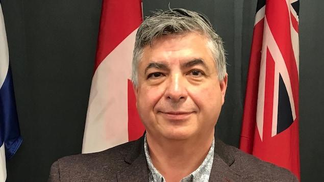 André Carrier, vice-président de la Fédération métisse du Manitoba pour la région de Winnipeg.