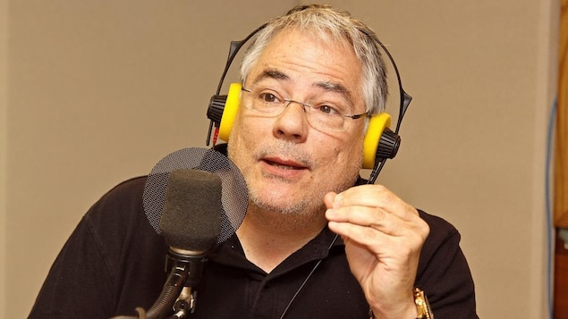 André Mondoux en studio