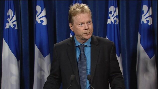 André Villeneuve, député péquiste de Lavaltrie
