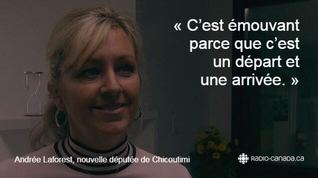 Citation d'Andrée Laforest
