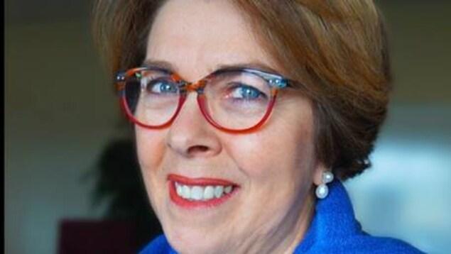 Anita Landry, codirectrice du Théâtre populaire d'Acadie.