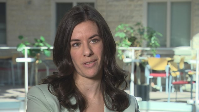 La professeure en psychologie à l'Université de Saint-Boniface Annabel Levesque