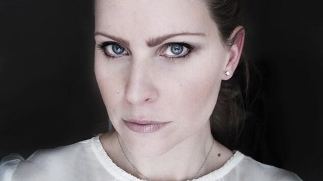 La poète Annie Lafleur