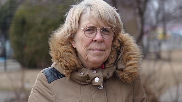 Portrait de Louise Dubé.
