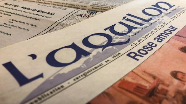 Le journal «L'Aquilon».