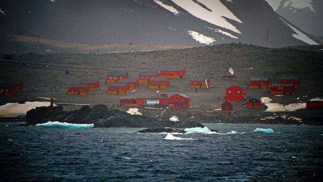 La base argentine d'Esperanza, en Antarctique.