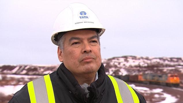 Armand MacKenzie est vice-président affaires intergouvernementales et affaires publiques de Tata Steel