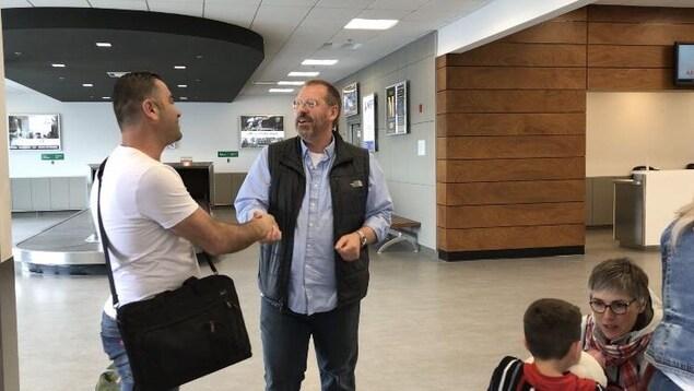 La famille d'origine syrienne, est arrivée en Abitibi-Témiscamingue.