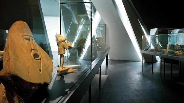 L'art inuit est exposé au pavillon Claire et Pierre Bourgie du Musée des beaux-arts de Montréal