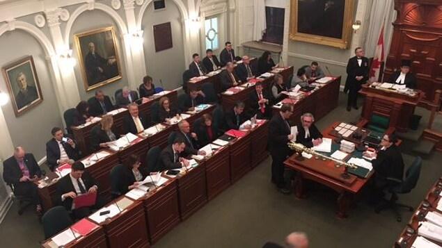 L'Assemblée législative de la Nouvelle-Écosse