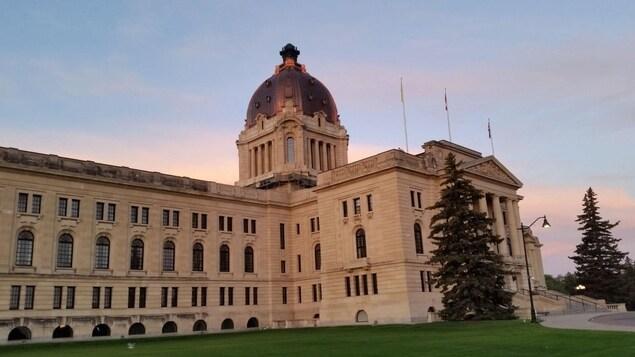 L'édifice de l'assemblée législative de la Saskatchewan à Regina.