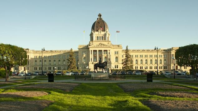 Le palais législatif, à Regina.