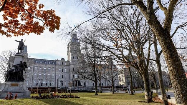L'édifice de l'Assemblée nationale à Québec.