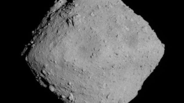 L'astéroïde Ryugu.