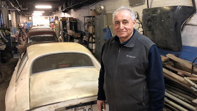 Zaven Darakjian, propriétaire du Pit Stop Garage dans Griffintown.