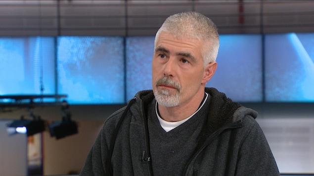 Alain Gervais, père de l'adolescente Athena Gervais.