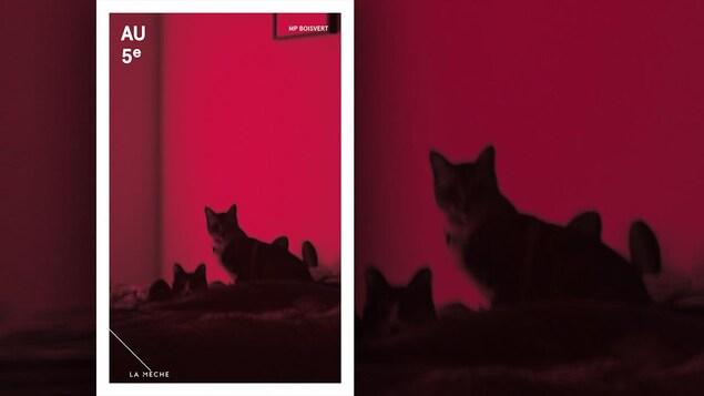 La couverture du livre «Au 5e» , de M. P. Boisvert