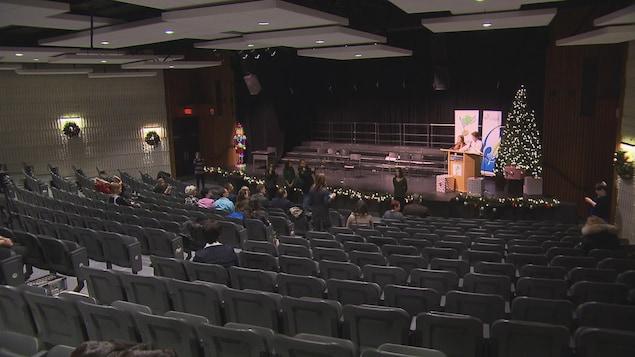L'auditorium de l'École polyvalente Jonquière