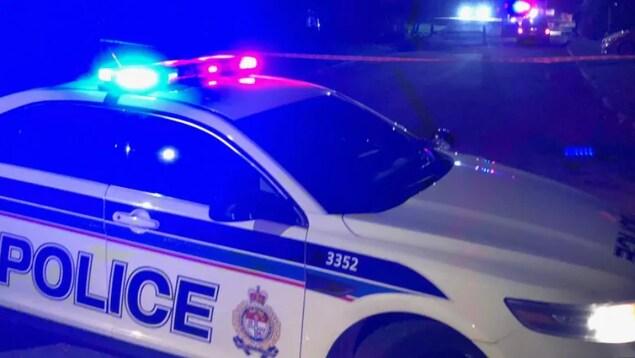 Une autopatrouille du Service de police d'Ottawa.
