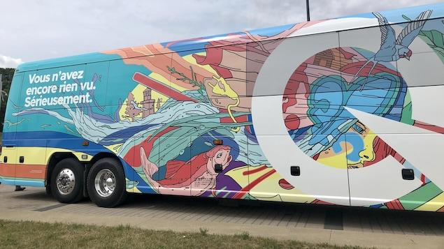 L'autobus du PQ à l'élection de 2018