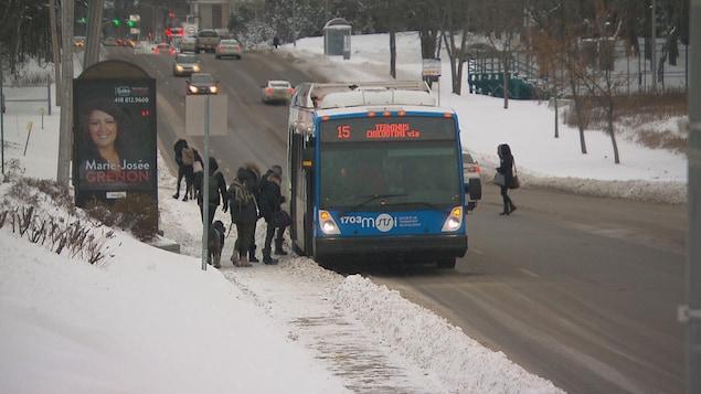 Un autobus de la STS