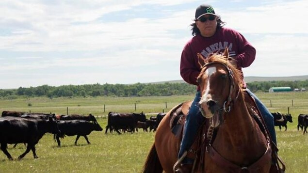 LouAnn Solway à cheval