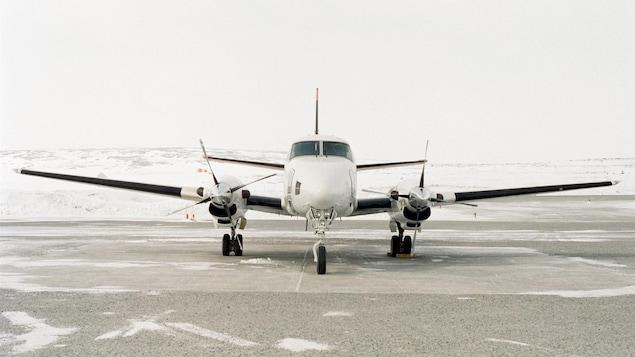 Avion dans le Nord